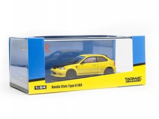 <img class='new_mark_img1' src='https://img.shop-pro.jp/img/new/icons1.gif' style='border:none;display:inline;margin:0px;padding:0px;width:auto;' />Tarmac Works 1/64 Honda Civic Type R EK9 Yellow