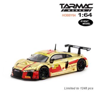 <img class='new_mark_img1' src='https://img.shop-pro.jp/img/new/icons1.gif' style='border:none;display:inline;margin:0px;padding:0px;width:auto;' />Tarmac Works 1/64 Audi R8 LMS Macau GT Cup FIA GT World Cup 2017 2nd place Robin Frijns 限定モデル
