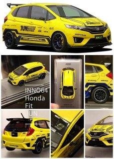 <img class='new_mark_img1' src='https://img.shop-pro.jp/img/new/icons1.gif' style='border:none;display:inline;margin:0px;padding:0px;width:auto;' />INNO64 1/64 HONDA FIT JUN 香港限定モデル