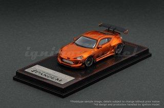 <img class='new_mark_img1' src='https://img.shop-pro.jp/img/new/icons1.gif' style='border:none;display:inline;margin:0px;padding:0px;width:auto;' />取寄せ品 ignition model 1/64 PANDEM Toyota 86 V3 Orange Metallic マレーシア ホビーエクスポ 限定品