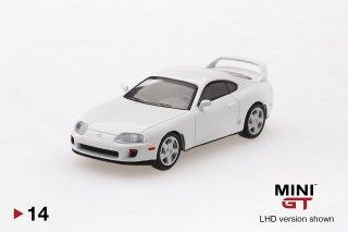 <img class='new_mark_img1' src='https://img.shop-pro.jp/img/new/icons1.gif' style='border:none;display:inline;margin:0px;padding:0px;width:auto;' />4月以降予約 MINI GT 1/64 トヨタ スープラ JZA80 スーパーホワイト LHD