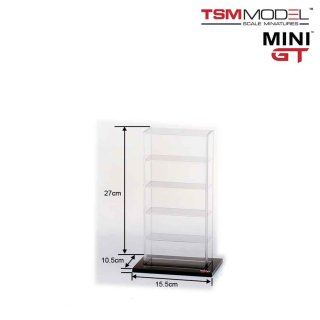 MINI GT 1/64 アクリル ディスプレイケース 5台用