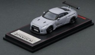 <img class='new_mark_img1' src='https://img.shop-pro.jp/img/new/icons1.gif' style='border:none;display:inline;margin:0px;padding:0px;width:auto;' />ignition model 1/64 PANDEM GT-R Matte Gray Janpan Ltd Color