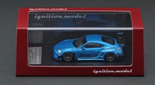 <img class='new_mark_img1' src='https://img.shop-pro.jp/img/new/icons1.gif' style='border:none;display:inline;margin:0px;padding:0px;width:auto;' />ignition model 1/64 PANDEM TOYOTA 86 V3 Blue Metallic Janpan Ltd Color