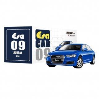 10月以降予約 Era CAR 1/64 AUDI A6 ブルー