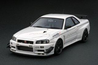 ignition model 1/43 Nissan Skyline GT-R Mine's(R34)White