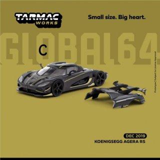 Tarmac Works GLOBAL64 1/64 Koenigsegg Agera RS Black/Gold