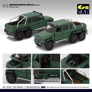Era CAR 1/64 Mercedes-Benz G63 AMG 6x6 グリーン