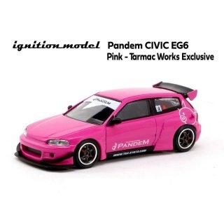 ignition model 1/64 PAMDEM CIVIC EG6 PINK ターマックワークス特注 香港限定 999個