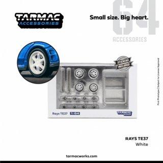 日本未発売 Tarmac Works 1/64 Rays TE37 Set White