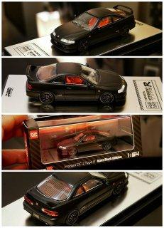<img class='new_mark_img1' src='https://img.shop-pro.jp/img/new/icons1.gif' style='border:none;display:inline;margin:0px;padding:0px;width:auto;' />POP RACE 1/64 Honda Integra DC2 Type R MAtt Black Edition 香港イベント限定 限定999個