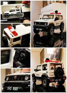 1月以降 BM Creations 1/64 スズキ ジムニー シエラ(JB74)パトレイバー 特車2 香港イベント限定モデル