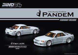 "<img class='new_mark_img1' src='https://img.shop-pro.jp/img/new/icons1.gif' style='border:none;display:inline;margin:0px;padding:0px;width:auto;' />INNO 1/64 Nissan Skyline GT-R R32 ""PANDEM"" マットグレー"