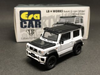 Era CAR 1/64 LB Works - Suzuki G mini SP Edition ホワイト