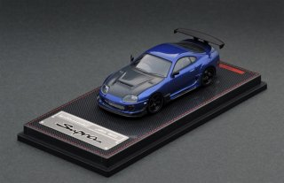 ignition model 1/64 Toyota Supra (JZA80) RZ Blue Metallic