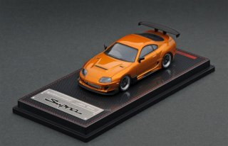 ignition model 1/64 Toyota Supra (JZA80) RZ Orange Metallic