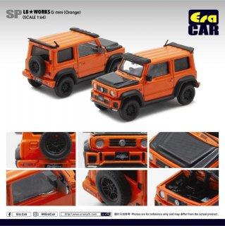 Era CAR 1/64 LB Works - Suzuki G mini SP Edition オレンジ