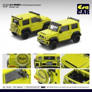 Era CAR 1/64 LB Works - Suzuki G mini SP Edition Fluorescent green