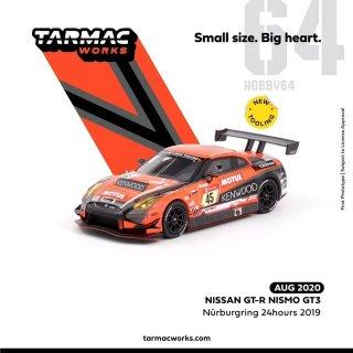 10月以降予約 Tarmac Works 1/64 NISSAN GT-R NISMO GT3 ニュルブルクリンク24時間 2019