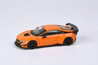 <img class='new_mark_img1' src='https://img.shop-pro.jp/img/new/icons1.gif' style='border:none;display:inline;margin:0px;padding:0px;width:auto;' />6月以降 予約 PARA64 1/64 Liberty Walk BMW i8 Orange  (LHD)左ハンドル
