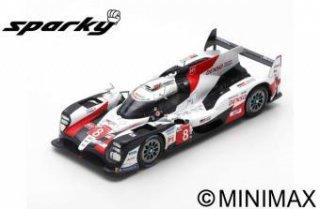 Spark 1/64 TOYOTA TS050 HYBRID No.8 GAZOO Racing Winner 24H Le Mans 2019 ブエミ,中嶋,アロンソ
