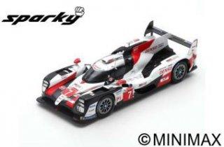 Spark 1/64 TOYOTA TS050 HYBRID No.7 GAZOO Racing 2nd 24H Le Mans 2019 コンウェイ,小林,ロペス