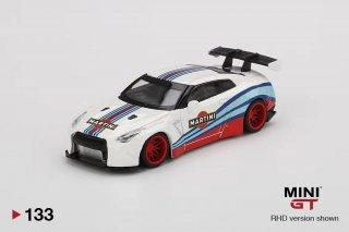 <img class='new_mark_img1' src='https://img.shop-pro.jp/img/new/icons1.gif' style='border:none;display:inline;margin:0px;padding:0px;width:auto;' />7月以降予約 MINI GT 1/64  LB WORKS NISSAN GT-R R35 Type1 Rear Wing Version1 Martini Racing 右ハンドル(RHT)