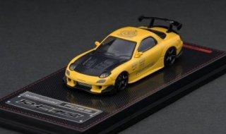 9月予約 ignition model 1/64 Mazda RX-7 (FD3S) RE Amemiya Yellow