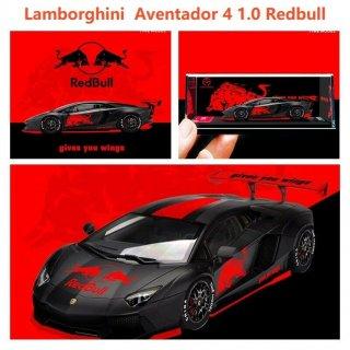 <img class='new_mark_img1' src='https://img.shop-pro.jp/img/new/icons1.gif' style='border:none;display:inline;margin:0px;padding:0px;width:auto;' />5月 TIME MODEL 1/64 Lamborghini Aventador LP700-4 2.0 Redbull Red Black