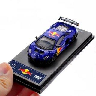 <img class='new_mark_img1' src='https://img.shop-pro.jp/img/new/icons1.gif' style='border:none;display:inline;margin:0px;padding:0px;width:auto;' />5月 TIME MODEL 1/64 Lamborghini Aventador LP700-4 2.0 Redbull Blue