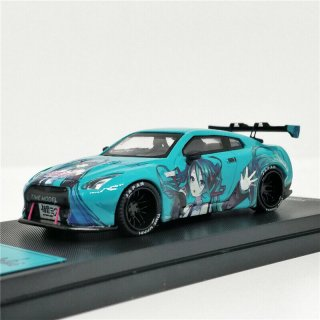 <img class='new_mark_img1' src='https://img.shop-pro.jp/img/new/icons1.gif' style='border:none;display:inline;margin:0px;padding:0px;width:auto;' />5月 TIME MODEL 1/64 NISSAN GT-R R35 初音ミク ハイリアウィング