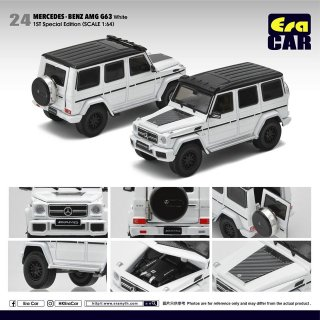 5月以降予約 Era CAR 1/64 Mercedes-Benz G63 AMG 1ST Special Edition ホワイト