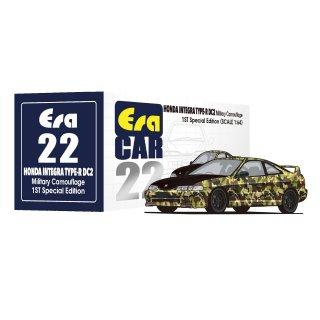 6月以降予約 Era CAR 1/64 ホンダ インテグラ DC2 タイプR 1ST Special Edition カモフラ