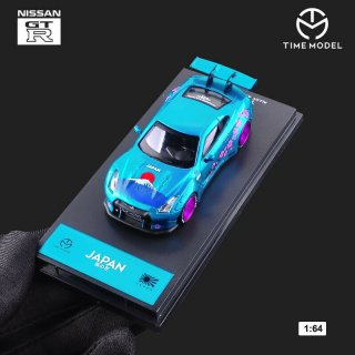 <img class='new_mark_img1' src='https://img.shop-pro.jp/img/new/icons1.gif' style='border:none;display:inline;margin:0px;padding:0px;width:auto;' />TIME MODEL 1/64 NISSAN GT-R R35 富士山 桜 ハイリアウィング