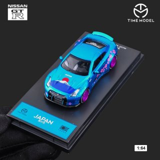 <img class='new_mark_img1' src='https://img.shop-pro.jp/img/new/icons1.gif' style='border:none;display:inline;margin:0px;padding:0px;width:auto;' />TIME MODEL 1/64 NISSAN GT-R R35 富士山 桜 ダックテール