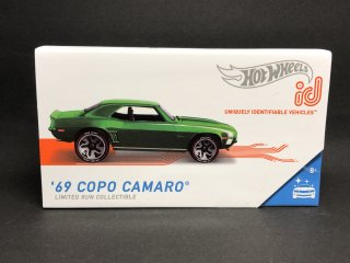<img class='new_mark_img1' src='https://img.shop-pro.jp/img/new/icons1.gif' style='border:none;display:inline;margin:0px;padding:0px;width:auto;' />HOT WHEELS id '69 COPO CAMARO Green