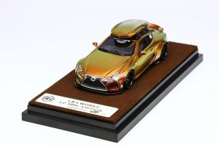 <img class='new_mark_img1' src='https://img.shop-pro.jp/img/new/icons1.gif' style='border:none;display:inline;margin:0px;padding:0px;width:auto;' />JEC 1/64 LB Performance Lexus LC500h Gold Chameleon
