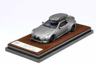 <img class='new_mark_img1' src='https://img.shop-pro.jp/img/new/icons1.gif' style='border:none;display:inline;margin:0px;padding:0px;width:auto;' />JEC 1/64 LB Performance Lexus LC500h Mat Metallic Grey