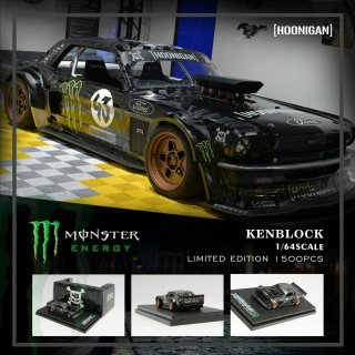 <img class='new_mark_img1' src='https://img.shop-pro.jp/img/new/icons1.gif' style='border:none;display:inline;margin:0px;padding:0px;width:auto;' />YM MODEL 1/64 KEN Block's Ford Mustang Hoonicorn Monster 1965