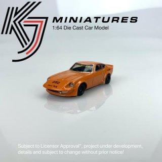 <img class='new_mark_img1' src='https://img.shop-pro.jp/img/new/icons1.gif' style='border:none;display:inline;margin:0px;padding:0px;width:auto;' />KJ Miniatures 1/64 LBWK Nissan FairLady S30 Rrtro Orange