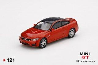 <img class='new_mark_img1' src='https://img.shop-pro.jp/img/new/icons1.gif' style='border:none;display:inline;margin:0px;padding:0px;width:auto;' />9月以降予約 MINI GT 1/64 BMW M4 (F28) Sakhir Orange LHD(左ハンドル)