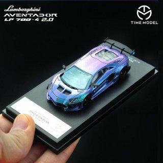 <img class='new_mark_img1' src='https://img.shop-pro.jp/img/new/icons1.gif' style='border:none;display:inline;margin:0px;padding:0px;width:auto;' />7月入荷 TIME MODEL 1/64 LB Performance Lamborghini Aventador LP700-4 2.0 マジョーラ
