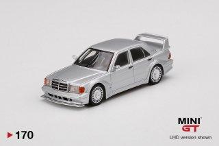 <img class='new_mark_img1' src='https://img.shop-pro.jp/img/new/icons1.gif' style='border:none;display:inline;margin:0px;padding:0px;width:auto;' />10月以降予約 MINI GT 1/64 Mercedes-Benz 190E 2.5-16 Evolution II DTM Silver LHD(左ハンドル)