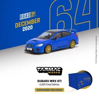 <img class='new_mark_img1' src='https://img.shop-pro.jp/img/new/icons1.gif' style='border:none;display:inline;margin:0px;padding:0px;width:auto;' />2月以降予約Tarmac Works 1/64 Subaru WRX STI EJ20 Final Edition (S208) Blue コンテナケース仕様