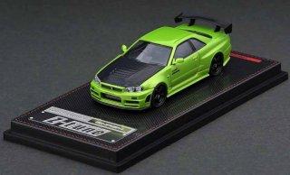 9月予約 ignition model 1/64 Nismo R34 GT-R Z-tune Green Metallic