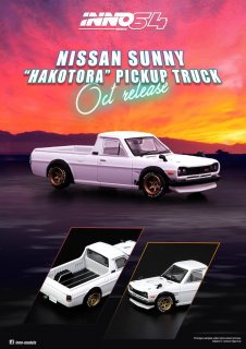 <img class='new_mark_img1' src='https://img.shop-pro.jp/img/new/icons1.gif' style='border:none;display:inline;margin:0px;padding:0px;width:auto;' />INNO 1/64 NISSAN SUNNY