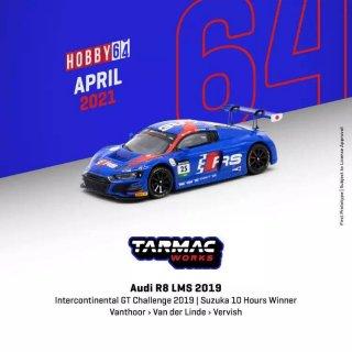 Tarmac Works 1/64  Audi R8 LMS Intercontinental GT Challenge 2019