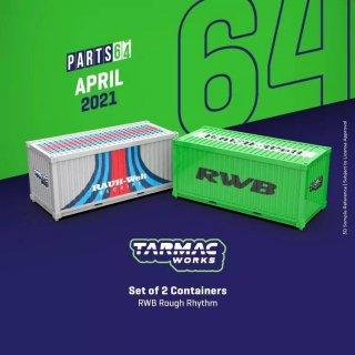 Tarmac Works 1/64  Container RWB Rough Rhythm 2個 コンテナ