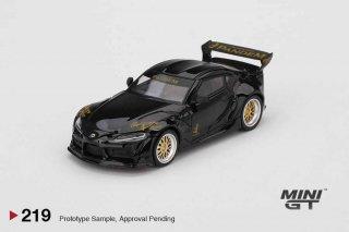 <img class='new_mark_img1' src='https://img.shop-pro.jp/img/new/icons12.gif' style='border:none;display:inline;margin:0px;padding:0px;width:auto;' />MINI GT 1/64 Pandem Toyota GR Supra V1.0 Black 左ハンドル(LHD)
