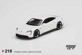 <img class='new_mark_img1' src='https://img.shop-pro.jp/img/new/icons1.gif' style='border:none;display:inline;margin:0px;padding:0px;width:auto;' />7月以降予約 MINI GT 1/64 Porsche Taycan Turbo S White 左ハンドル(LHD)